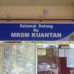 Photo taken at MRSM Kuantan by Mai on 3/10/2013