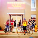 Photo taken at Routes Bicycle Tours & Rentals by Routes Bicycle Tours & Rentals on 5/4/2014