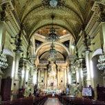 Photo taken at Basílica Colegiata de Nuestra Señora de Guanajuato by Bessie on 3/6/2013