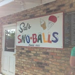 Photo taken at Sal's Sno-Ball Stand by Katie B. on 4/13/2013