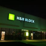 Photo taken at H&R Block by Robin R. on 3/2/2013