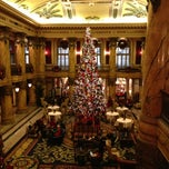 Photo taken at The Jefferson Hotel by Crystal on 12/21/2012