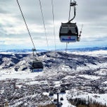 Photo taken at Steamboat Resort by Alex N. on 3/12/2013