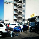 Photo taken at Sun Hand Car Wash by Frank L. on 10/2/2013