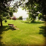 Photo taken at St. Vital Park by Alexander T. on 7/1/2013