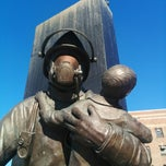 Photo taken at Ontario Fire Fighters Memorial by Darcy on 3/21/2014