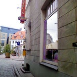 Photo taken at Doma Hostel in Riga by Tauno T. on 9/21/2013