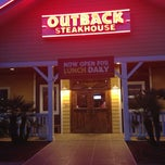 Photo taken at Outback Steakhouse by Matt on 1/10/2013