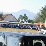 Photo taken at Kantor Bupati Lombok Utara by Ayick R. on 10/14/2012