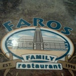 Photo taken at Faros Family Restaurant by eva b. on 1/5/2012