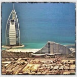 Photo taken at Burj Al Arab برج العرب by Tet on 10/4/2012