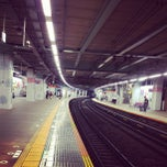 Photo taken at たまプラーザ駅 1番線ホーム by 遊上 y. on 7/13/2013