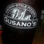Photo taken at Gusano's Chicago Pizza by Jaymie B. on 11/1/2012