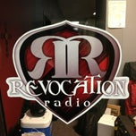 Photo taken at Revocation Radio Studio (http://myrevradio.com) by Keith L. on 1/2/2013