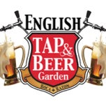 Photo taken at The English Tap & Beer Garden by Carlos R. on 4/28/2013