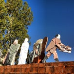 Photo taken at Piazzale Bambine E Bambini Di Beslan by Alessandro on 10/26/2012