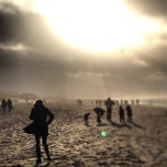 Photo taken at Strand Noordwijk aan Zee by Christian G. on 12/30/2012