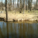 Photo taken at Nordeķu Parks by Dmitrij I. on 4/28/2013