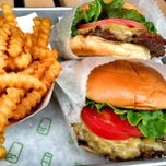 Photo taken at Shake Shack by brandon k. on 4/20/2013