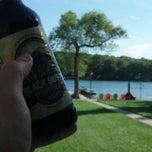Photo taken at Huzzy Lake by Brad X. on 8/31/2013