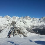 Photo taken at Chiesa In Valmalenco by Flavio C. on 1/18/2013
