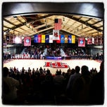 Photo taken at Kirby Field House by Dyann B. on 1/30/2014