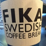Photo taken at FIKA Swedish Coffee Break by ㅂㅇ ㅊ. on 10/30/2012