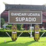 Photo taken at Bandara Supadio (PNK) by Dedyn P. on 6/19/2013