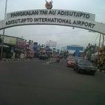 Photo taken at Adisutjipto International Airport (JOG) by Kemal S. on 6/15/2013