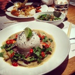 Photo taken at Wagamama by Simran J. on 12/24/2012