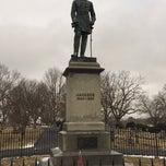 """Photo taken at Thomas """"Stonewall"""" Jackson's Grave by Margo on 1/14/2015"""