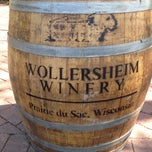 Photo taken at Wollersheim Winery by Drew B. on 4/21/2012