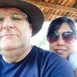 Photo taken at Lago do Manso by Moacir Z. on 9/21/2014