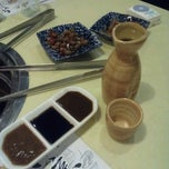 Photo taken at Kumoi Yakinihu · Japanese Cuisine by Kate.kate on 11/5/2012