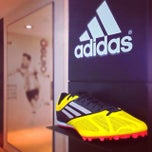 Photo taken at Adidas by  PolloSCL on 2/16/2014