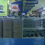 Photo taken at Hypermart gajah mada by guruh s. on 9/18/2012