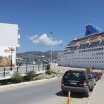 Photo taken at Port Of Crete by Evgeniy P. on 5/12/2013