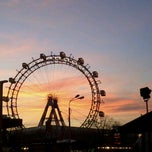 Photo taken at Praterstern by Francisco A. on 12/31/2012