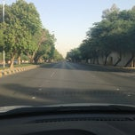 Photo taken at طريق الملك خالد - السفارات / King Khaled Road by Abdullah F. on 6/24/2013