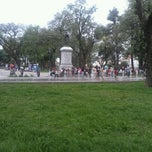 Photo taken at Plaza Belgrano by Emilio L. on 11/11/2012