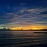 Photo taken at Pantai Candidasa by Margita R. on 2/3/2013