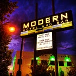 Photo taken at Modern Hotel & Bar by Adam W. on 7/25/2013