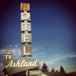 Photo taken at Ashland Motel by Adam W. on 10/29/2012