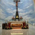 Photo taken at Gereja Katolik Roh Kudus by Deasy on 6/21/2015