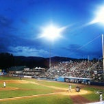 Photo taken at Dutchess Stadium by Sara H. on 7/24/2013