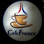 Photo taken at CafeFrance by DerrickandMiladay T. on 7/23/2013
