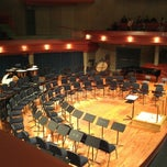 Photo taken at UNT Murchison Performing Arts Center by David B. on 10/26/2012