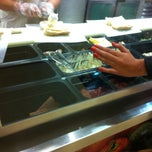 Photo taken at Subway by Max S. on 11/22/2012