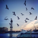 Photo taken at Port de Barcelona by Антон Н. on 1/15/2013