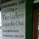 Photo taken at Teeladen - Loja do Chá by Letícia M. on 3/11/2014